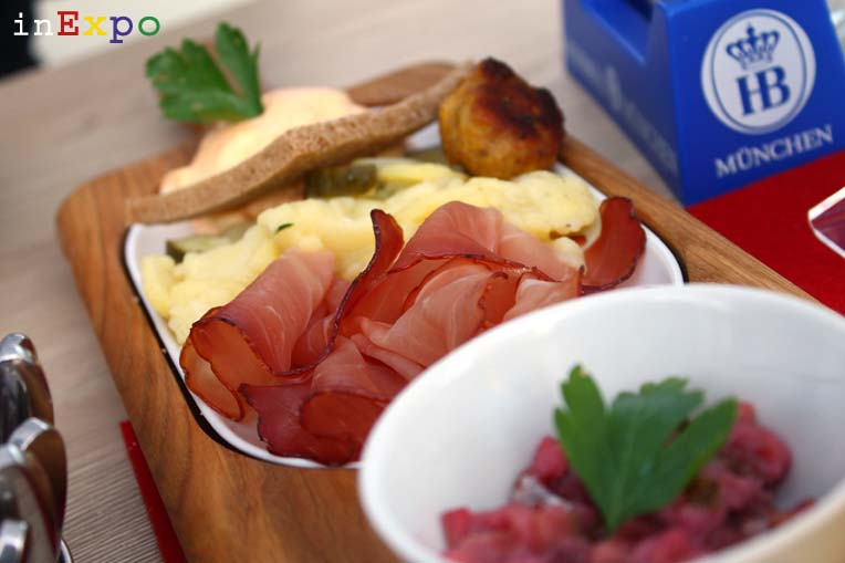 antipasto_ristorante_germania_expo_Hofbräu_München