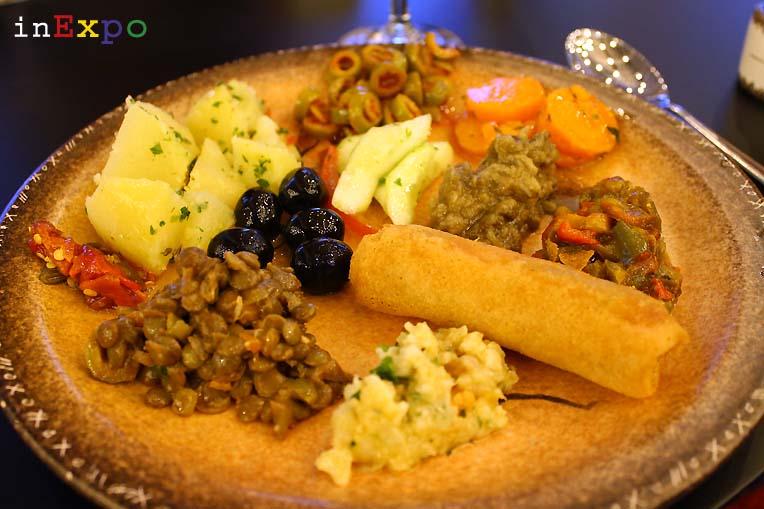 buffet ristorante algerino expo