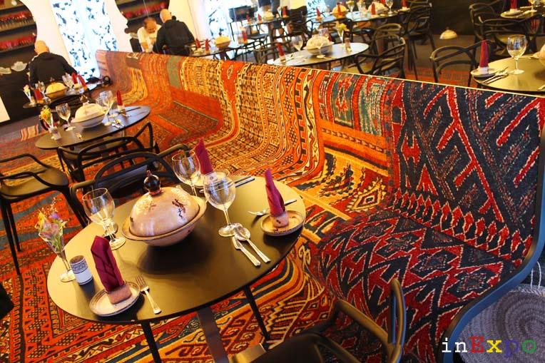 ristorante algerino interno expo
