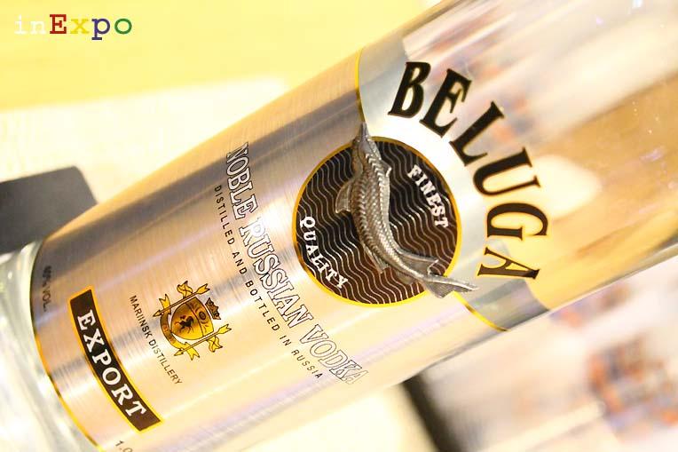 Vodka Beluga ristorante russo Expo