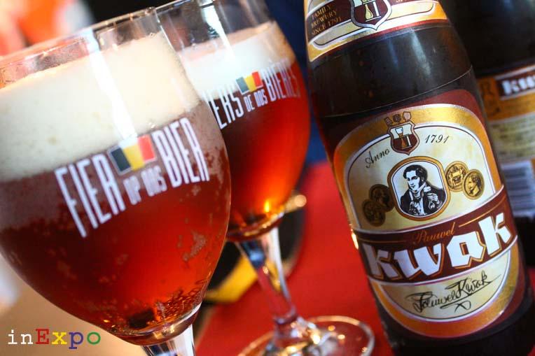 ottima birra belga ristorante del Belgio in Expo