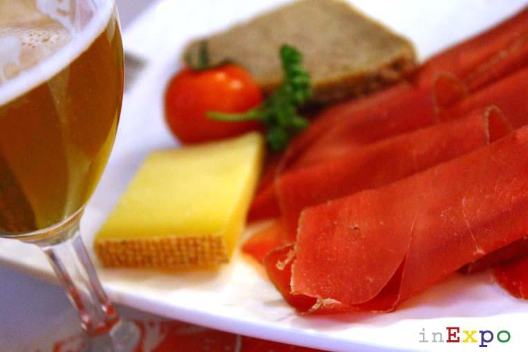 Ristoranti Expo Svizzera carne secca dei Grigioni