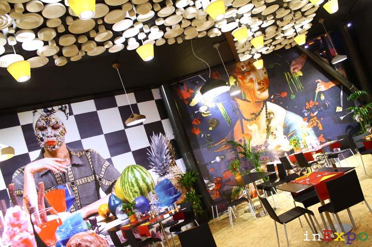 ristorante del Belgio in Expo