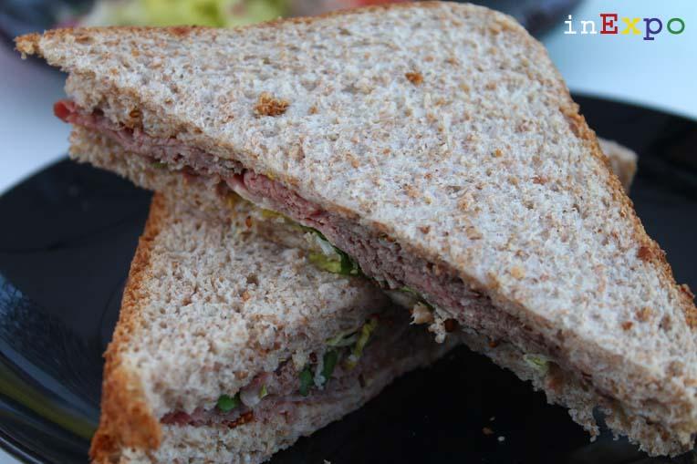 Roast beef sandwich Ristorante del Regno Unito in Expo