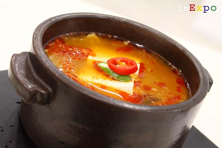 spezzatino di kimchi coreano in Expo