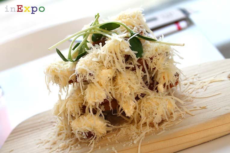 Duona su suriu ristorante lituano in Expo