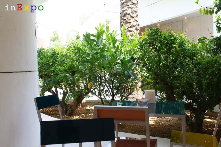 Bahrain terrazze ristorante e locali all'aperto in Expo
