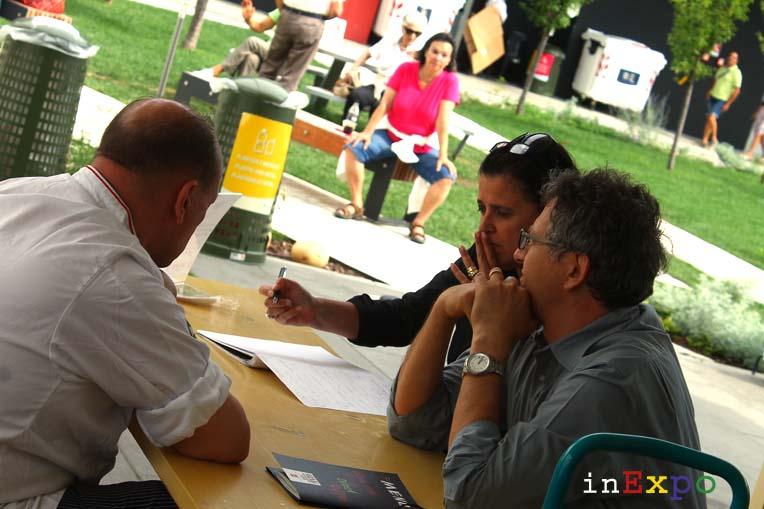 il gelato di Massimo Conti in Expo, l'intervista del blog inExpo