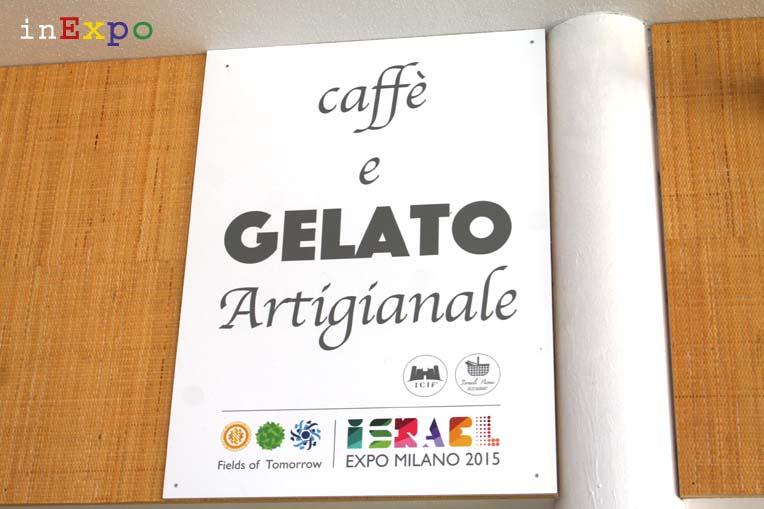 Il gelato di Massimo Conti in Expo