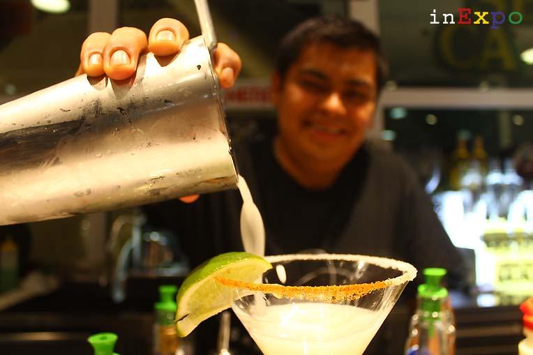 ristorante messicano Besame Mucho in Expo Panchito e il suo margarita