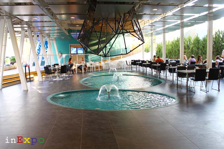 Iran terrazze ristorante e locali all'aperto in Expo