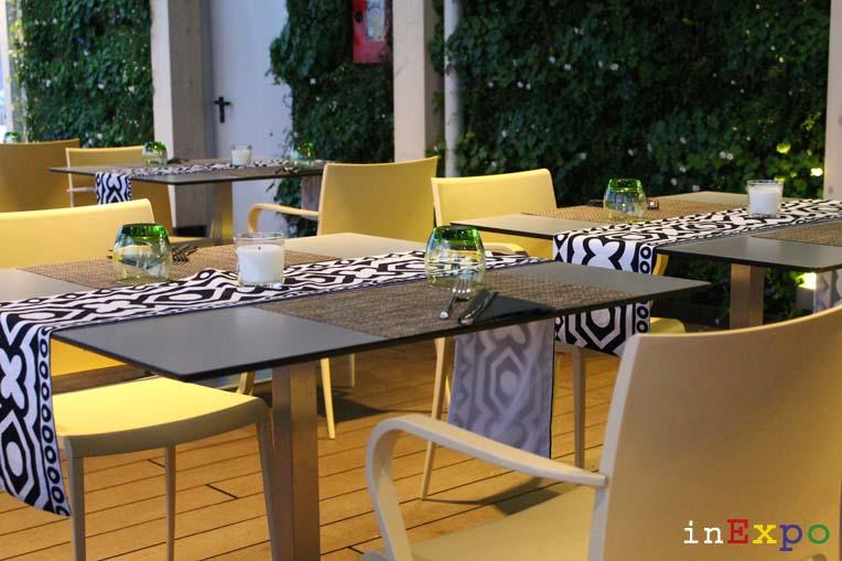 Angola terrazze ristorante e locali all'aperto in Expo