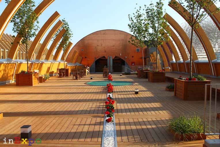 Ungheria terrazze ristorante e locali all'aperto in Expo