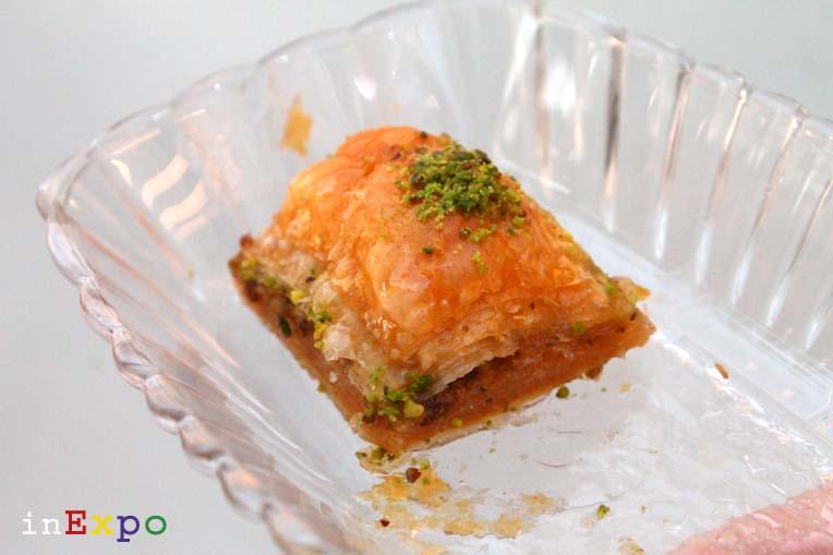 Baklava ristorante della Turchia in Expo