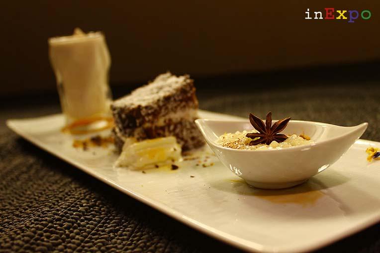Dolci ristorante angolano in Expo