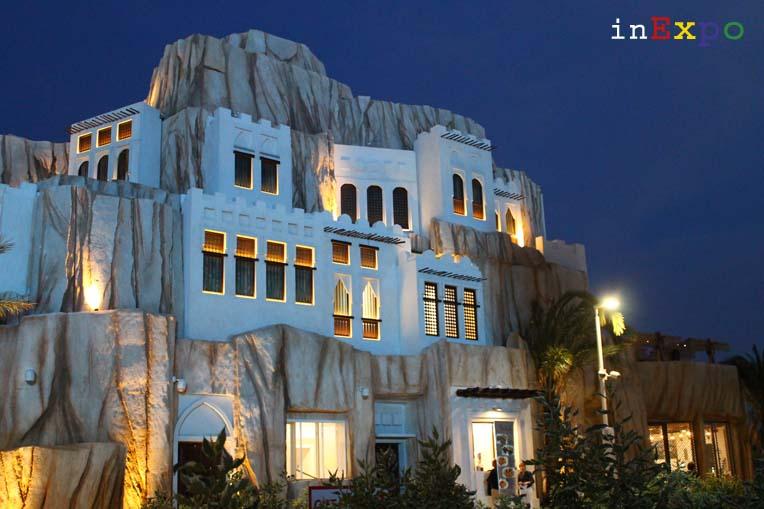Il suggestivo Padiglione Oman in Expo