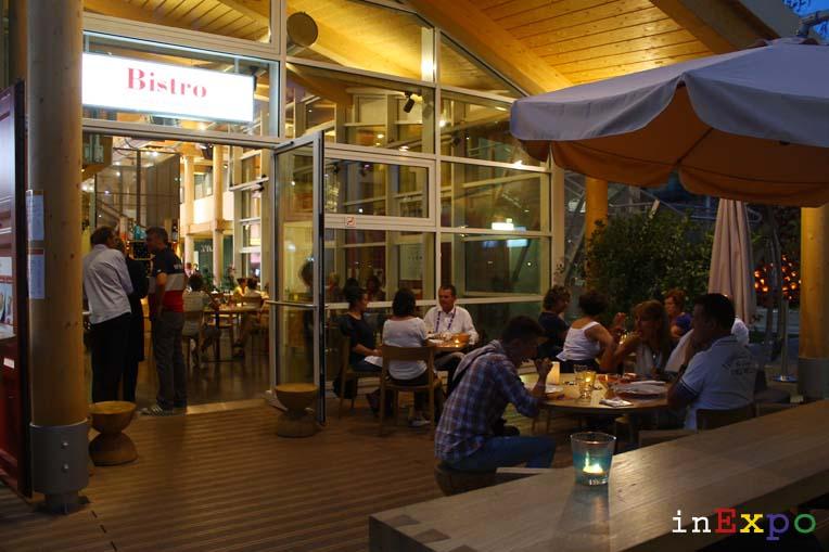 Café Fairmont ristorante padiglione Monaco in Expo