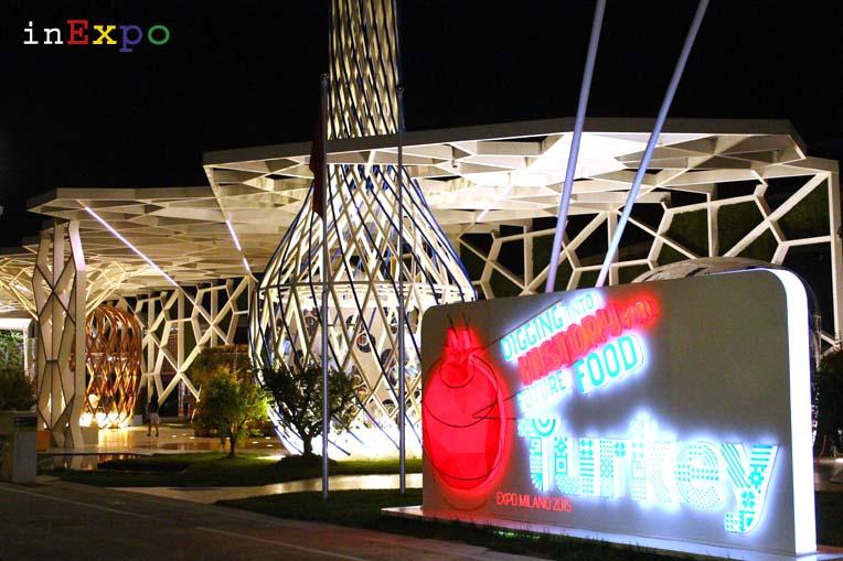 Padiglione della Turchia in Expo