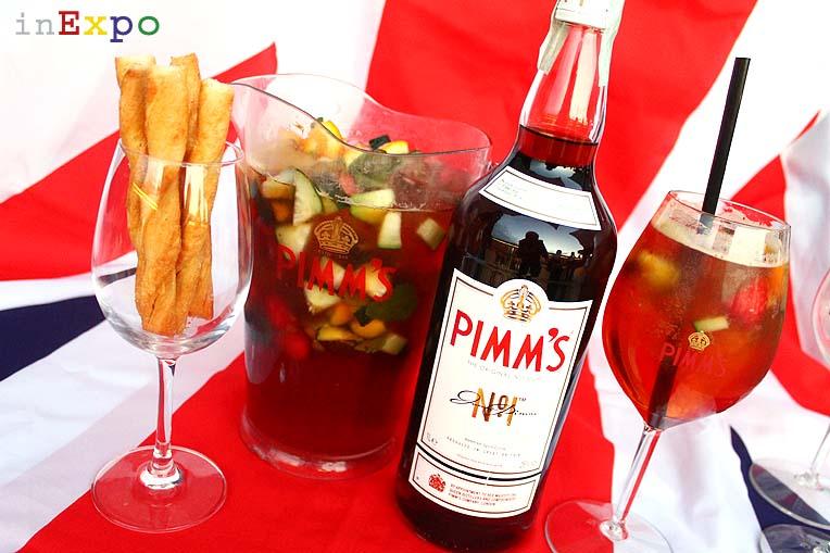 10 aperitivi Expo PIMM'S Padiglione UK