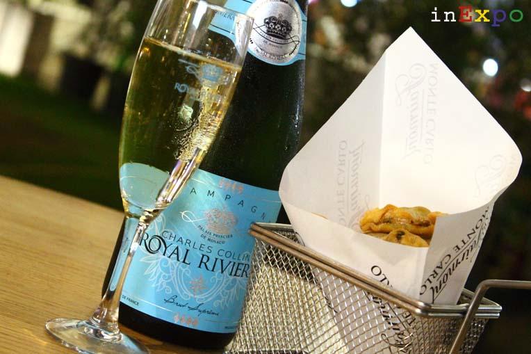 10 aperitivi Expo Champagne Royal Rivera Pavillon Monaco