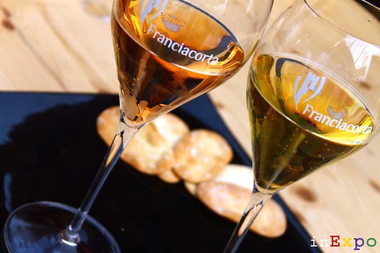 10 aperitivi Expo Rosè Monterossa e Castel Faglia millesimato 2002 Consorzio Franciacorta