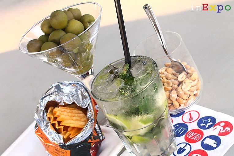 10 aperitivi Expo Mojito padiglione USA
