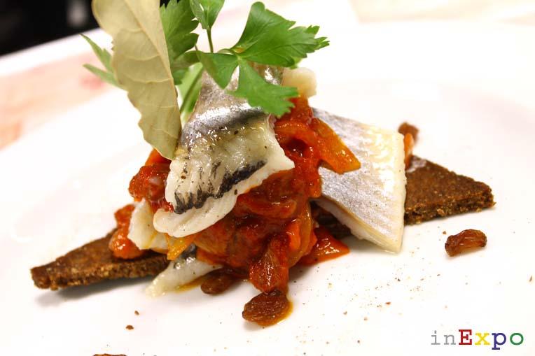 aringa di Kaszubia ricetta del ristorante polacco in Expo