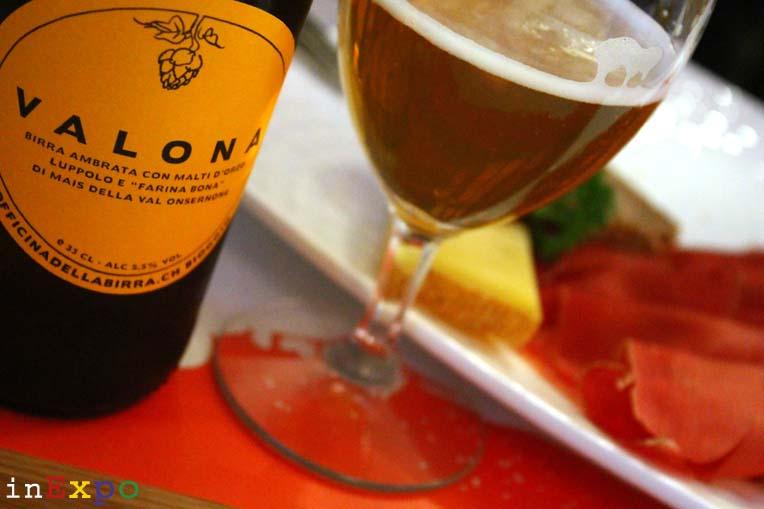 birra Valona ristorante Svizzero in Expo
