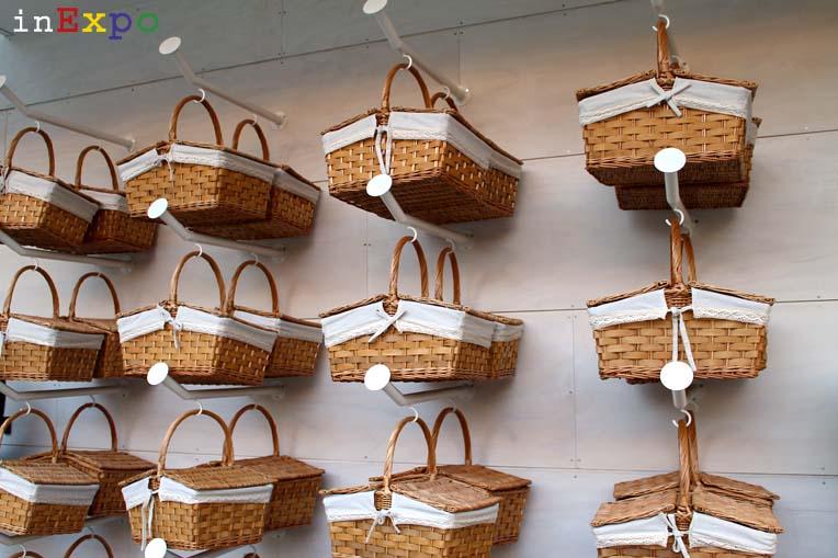cestini da picnic ristorante israeliano in Expo