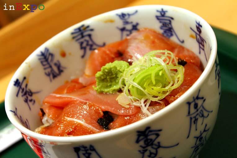 chirashi ristorante giapponese in Expo