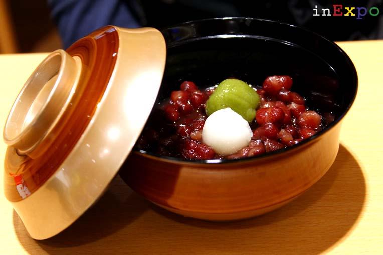 Shiratama Zenzai ristorante giapponese in Expo