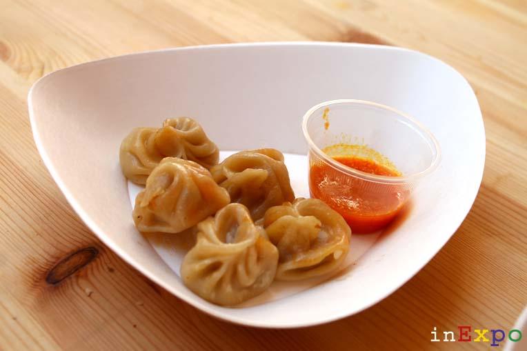 Mo-mo al vapore ristorante nepalese in Expo
