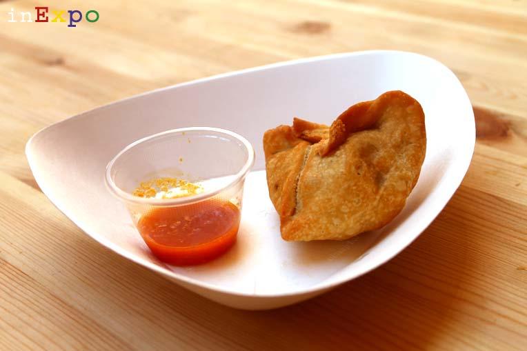 Samosa ristorante nepalese in Expo