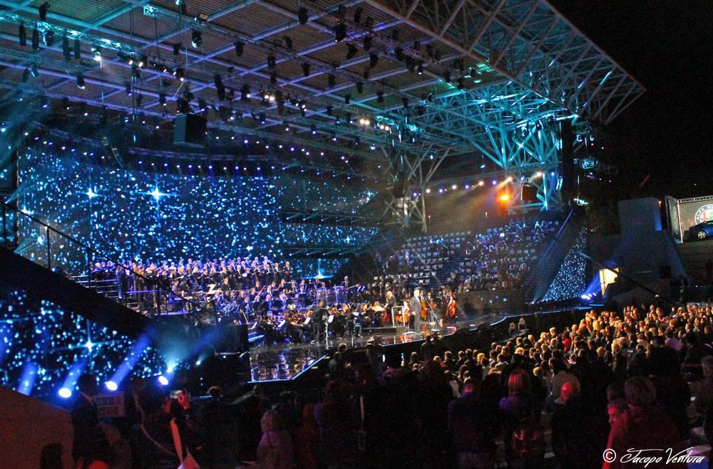Bocelli and Zanetti night - Andrea Bocelli intona Nessun Dorma