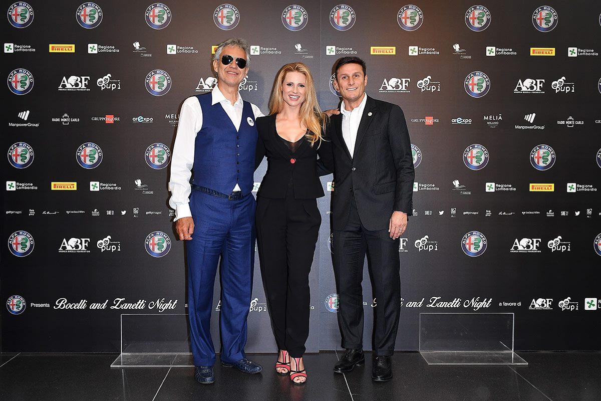 Conferenza stampa Bocelli & Zanetti night all'Open Air Theatre Expo