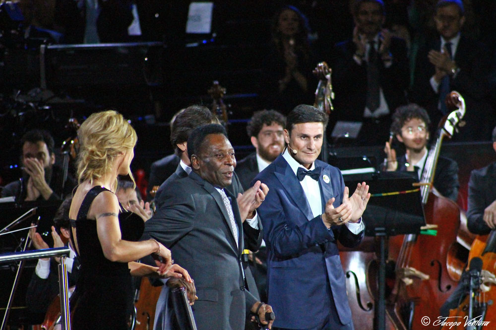 Bocelli and Zanetti night - Pelè