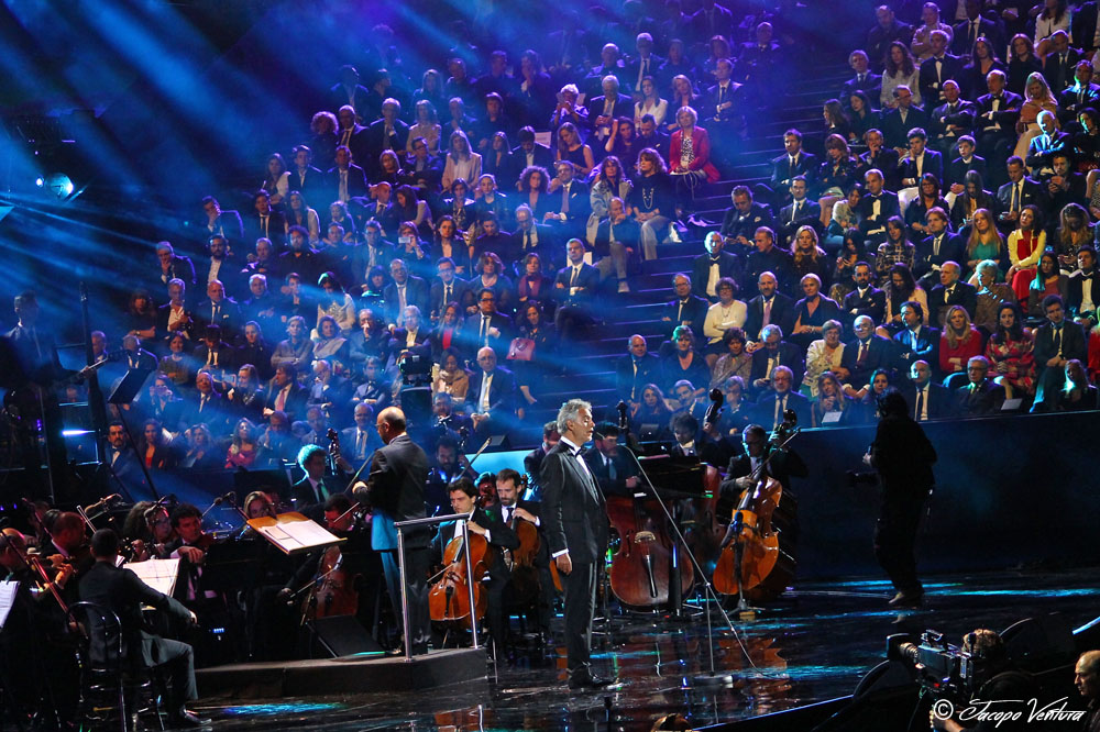 Bocelli and Zanetti night Open Air Theatre Expo 25 maggio 2016