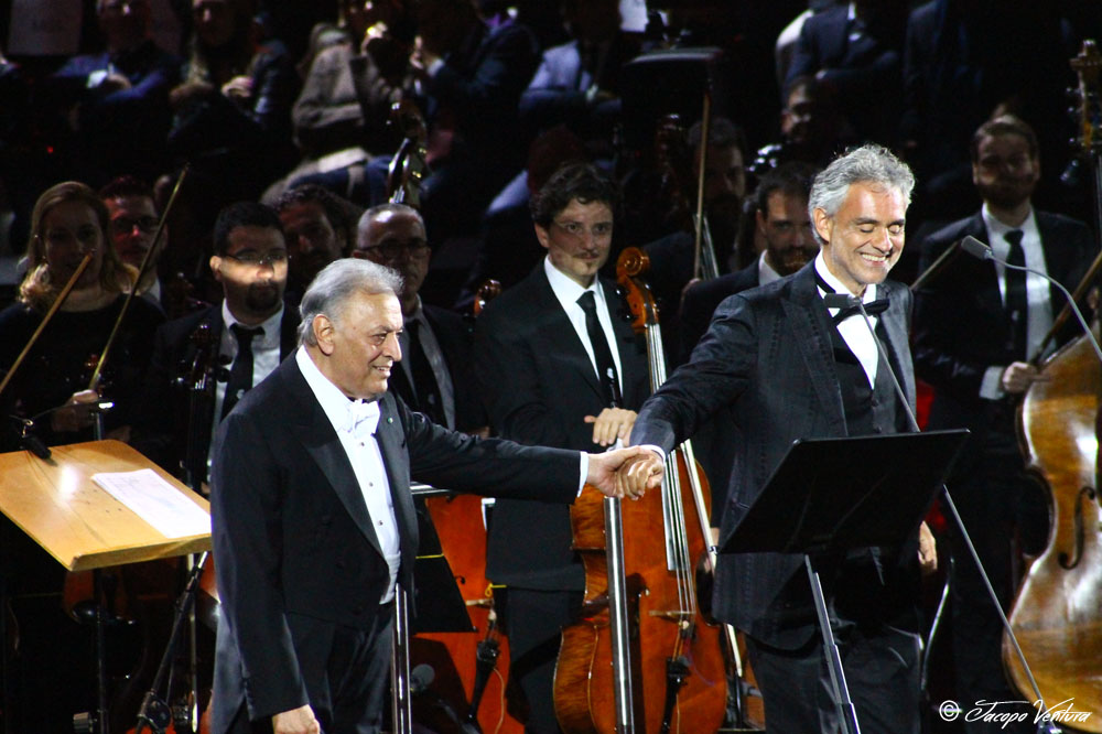 Bocelli and Zanetti night - Zubin Mehta e Andrea Bocelli