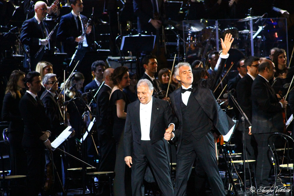 Bocelli and Zanetti night - Adrea Bocelli e Zubi Mehta